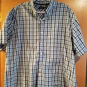 Van Heusen XXL Button up plaid shirt 18-18.5